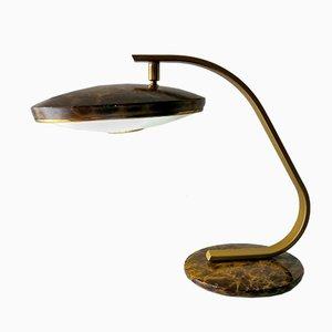 Lámpara de escritorio modelo 520C vintage en carey de Fase