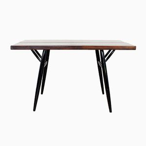 Vintage Dining Table by Ilmari Tapiovaara for Laukaan Puu