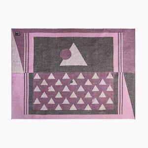 Coperta rosa in lana di alpaca delle Ande di Nebula Order