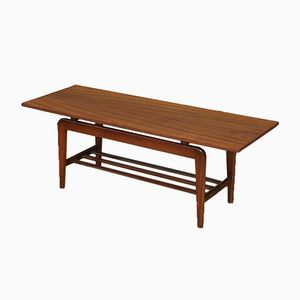Table Basse en Teck, Pays-Bas, 1960s