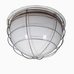 Lámpara de techo industrial Mid-Century, años 60
