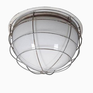 Mid-Century Industrial Ceiling Light, 1960s