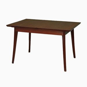 Mid-Century Teak Extendable Dining Table by Louis van Teeffelen