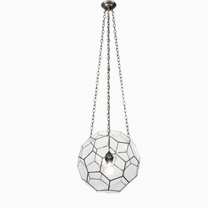 Medium Leaded Lantern by Rose Uniacke