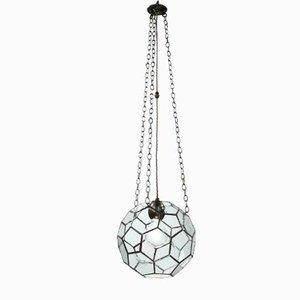Lámpara colgante pequeña con piezas de vidrio ensambladas de Rose Uniacke