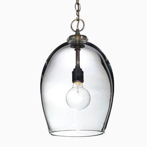 Lámpara colgante pequeña transparente de Rose Uniacke