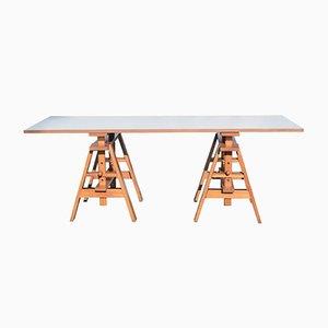 Tavolo da lavoro Leonardo di Achille Castglioni per Zanotta, 1969
