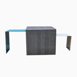 Ignis Steel Nesting Tables by Simply Rickshaw