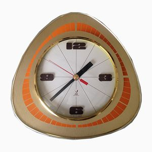 Model 4313-70 Tridic Wall Clock by Jaz Electronic, 1970s