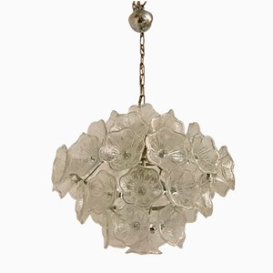 Mid-Century Murano Flower Chandelier by Venini for VeArt