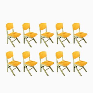 Chairs from Baumann, 1970s, Set of 10