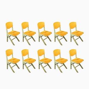 Stühle von Baumann, 1970er, 10er Set