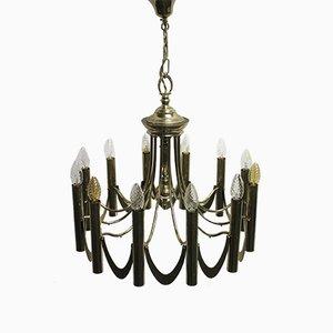 Lámpara de araña Mid-Century de Gaetano Sciolari, años 60