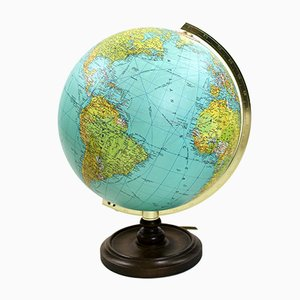 Vintage Illuminated Globe from JRO Verlag