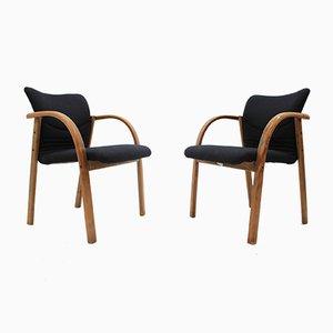 Chaises de bureau Vintage de FORM Design, 1980s, Set de 2