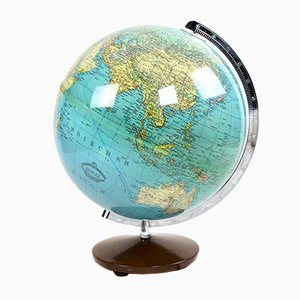 Vintage Illuminated Globe from Columbus Oestergaard, 1970s