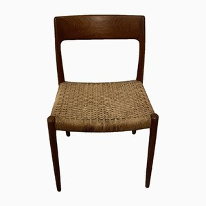 Vintage Danish Dining Chair from J.L. Møllers