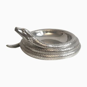 Steel Snake Ashtray, 1970s