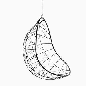 Sedia a dondolo Nest sferica di Studio Stirling