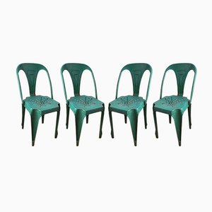 Chaises Multiples Vintage, 1920s, Set de 4