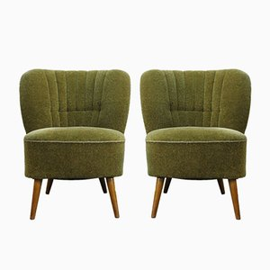 Vintage Danish Lounge Chairs, 1950s, Set of 2