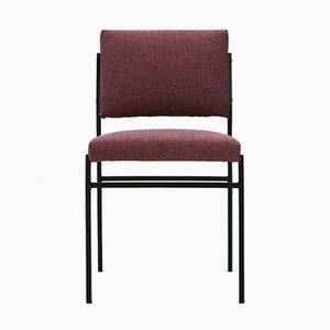 Stuhl mit Gestell aus röhrenförmigem Stahl, 1960er