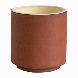 Two Terra Coffee Cup in Pale Yellow by Madre