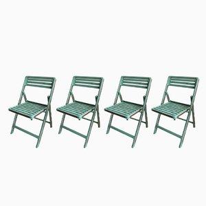 Chaises de Jardin Vintage, 1950s, Set de 4