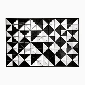Panel mural Tejo Black & White de azulejos de Mambo Unlimited Ideas