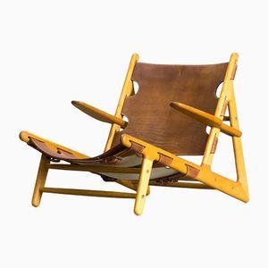Modell 2229 Hunting Chair von Børge Mogensen für Fredericia, 1950er