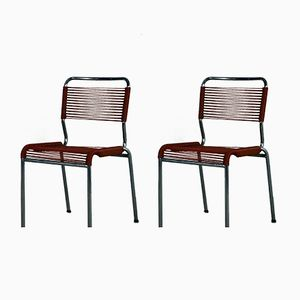Vintage Italian Spaghetti Chairs, Set of 2