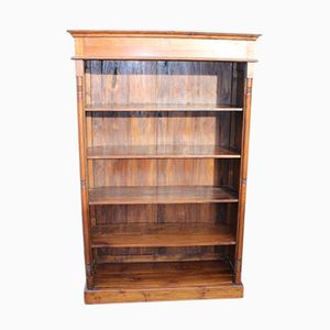 Walnut 4 Shelf Bookshelf, 1960s