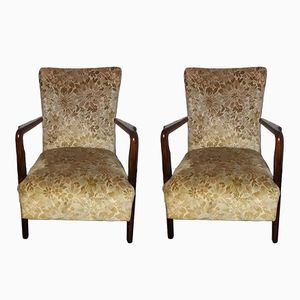 Model 401 Armchairs from Cassina, 1940s, Set of 2