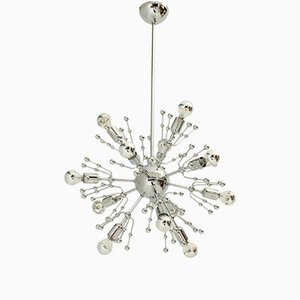Lámpara de araña Sputnik de Sciolari, 1969
