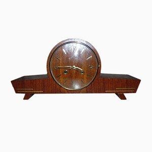 Reloj de chimenea vintage de Predom Metron, años 70