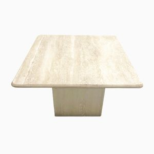 Vintage Travertine Coffee Table, 1960s
