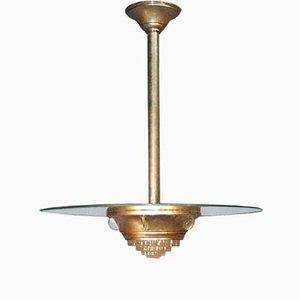 Lampada da soffitto Saturn di Ezan, anni '30