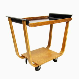 Mid-Century PB31 Serving Trolley by Cees Braakman for Pastoe