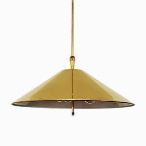 Brass Pendant Lamp from WKR, 1960s