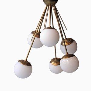 Lámpara de techo italiana, años 70