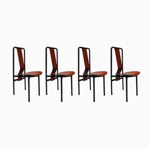 Irma Stühle von Achille Castiglioni für Zanotta, 1979, 4er Set