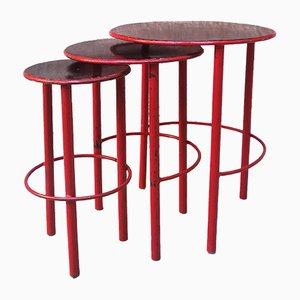 Tavolini ad incastro Mid-Century, anni '50