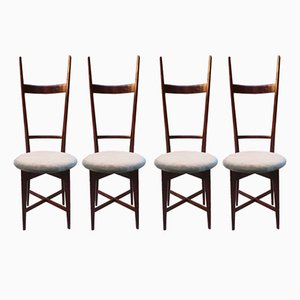 Chairs by Sant'Ambrogio & De Berti, 1950s, Set of 4