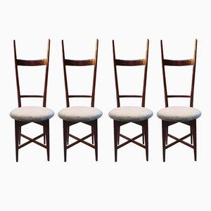 Stühle von Sant'Ambrogio & De Berti, 1950er, 4er Set