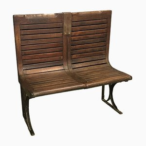 Parisian Subway Bench from Sprague, 1920s