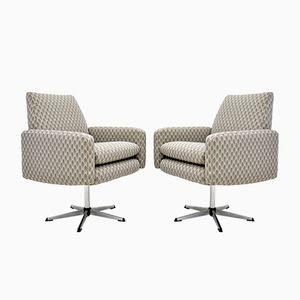 Vintage Swivel Chairs, 1970s, Set of 2