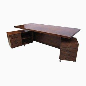 Vintage Schreibtisch von Osvaldo Borsani für Tecno, 1950er