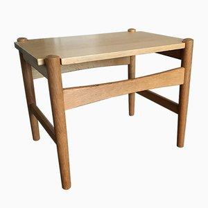 Vintage Scandinavian Oak Side Table by Hans J. Wegner for PP Møbler, 1960s