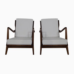 Vintage 516 Armchairs by Gio Ponti, Set of 2