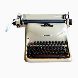 Lexikon 80 Typewriter by Marcello Nizzoli for Olivetti, 1950s